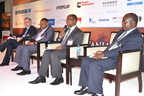 Speakers in session at one of EnergyNet's Powering Africa conferences