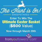 From You Flowers is Celebrating Easter with the Ultimate Easter Basket Sweepstakes