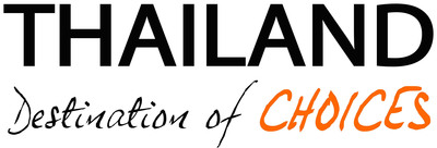 THAILAND Destination of CHOICES Logo.  (PRNewsFoto/Thailand Convention & Exhibition Bureau)