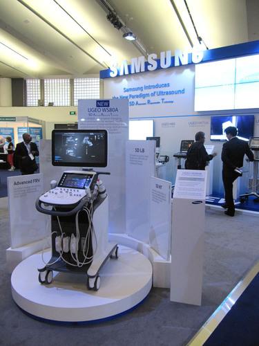 Samsung Medison stellt das erste Premium-Ultraschallgerät UGEO WS80A auf dem ISUOG 2013 World