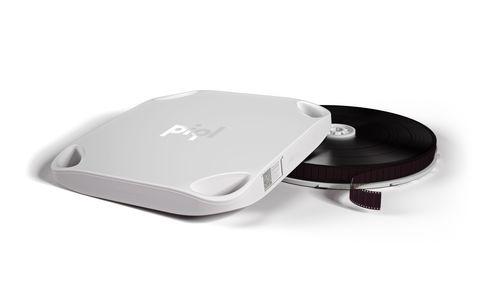 PiqlFilm with digital data (PRNewsFoto/Piql AS)