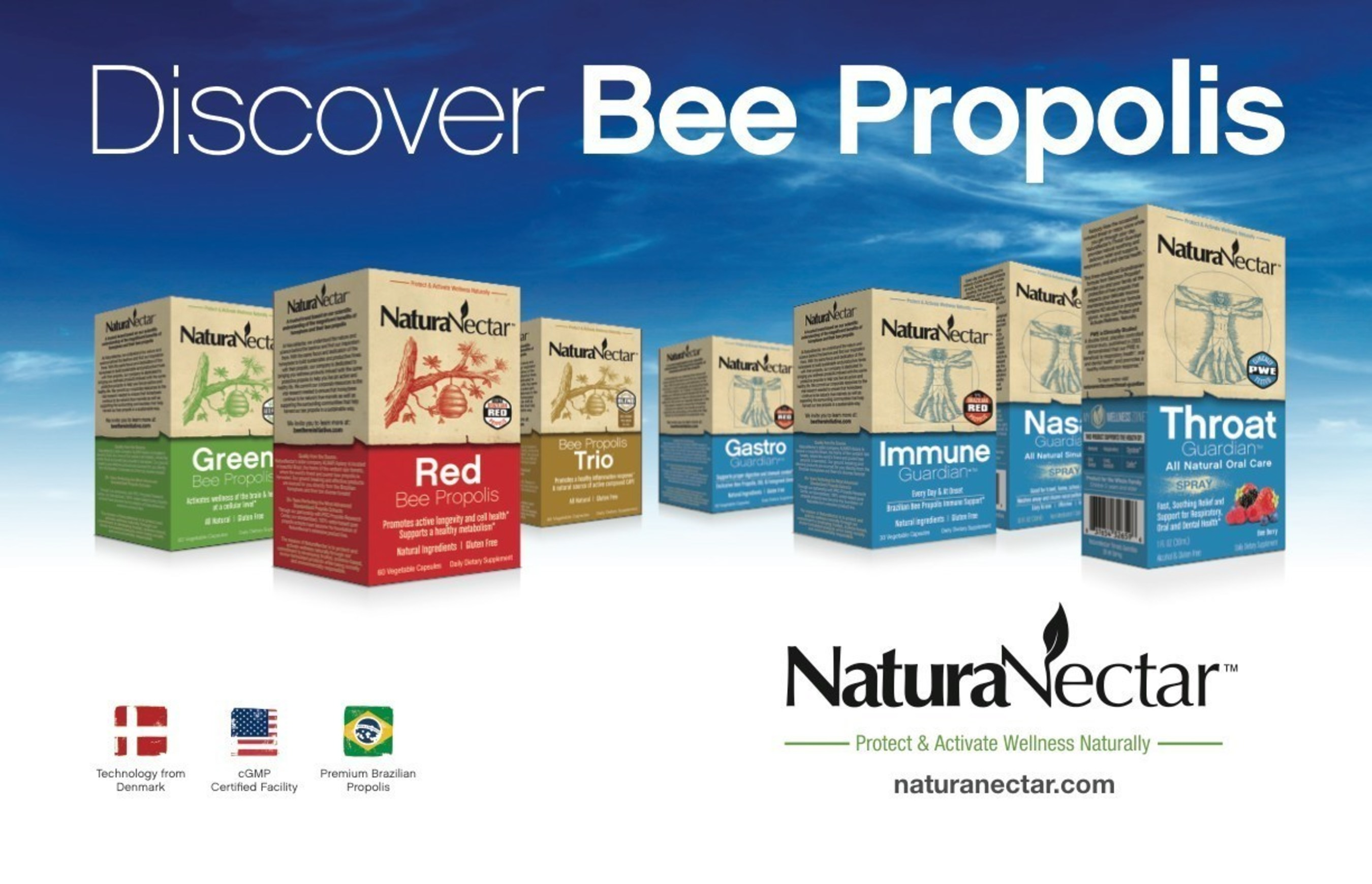 NBTY's Vitamin World to Carry NaturaNectar's Exclusive Bee Propolis Products