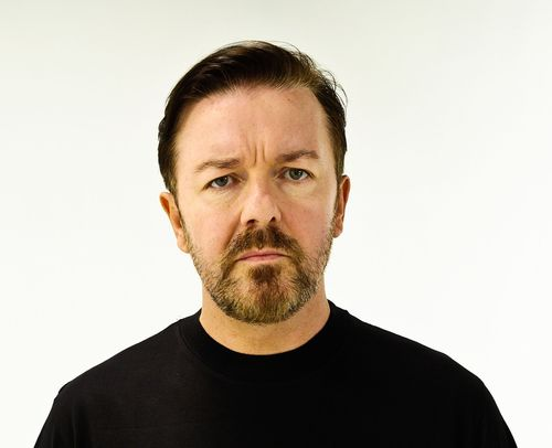 Ricky Gervais helps BUAV raise awareness about cruel monkey experiments at leading European laboratorys and host of celebrities help BUAV raise awareness about cruel monkey experiments at leading European laboratory (PRNewsFoto/The BUAV)