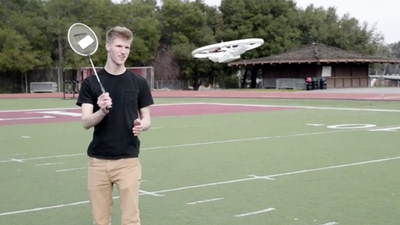 Zyro DroneBall -- the first Multiplayer, Multidrone Aerial Ball.