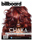 Chaka Khan Featured on Billboard Magazine's First-Ever Augmented Reality Cover on Newsstands March 16.  (PRNewsFoto/Chaka Khan)
