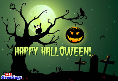 Happy Halloween! (PRNewsFoto/123Greetings.com)