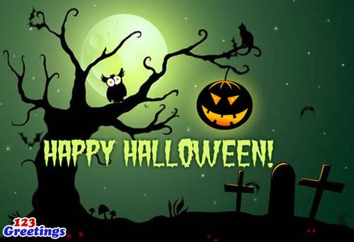 Happy Halloween! (PRNewsFoto/123Greetings.com) (PRNewsFoto/123GREETINGS.COM)