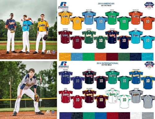 Russell Athletic And Little League® Introduce New Uniforms For The 2014 Little League Baseball®