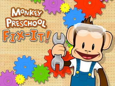 Thup Games announces Monkey Preschool Fix-It, from the team that brought you Monkey Preschool Lunchbox.  (PRNewsFoto/Thup Games)