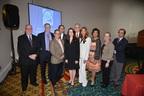 David H. Ilson, MD; Jordan D. Berlin, MD; Peter Sprague, PT, DPT, OCS (Symposium Co-Chair); Adam Bass, MD, PhD; Debbie Zelman (DDF President and Founder); Jeffrey Norton, MD; Libia F. Scheller, PhD (Symposium Co-Chair); Edith P. Mitchell, MD, FACP; Kathleen Mary Wesa, MD; and Jaffer A. Ajani, MD (PRNewsFoto/Debbie's Dream Foundation)