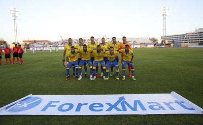 Pre-season tour of UD Las Palmas supported by ForexMart (PRNewsFoto/ForexMart)