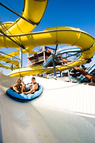 Schlitterbahn named one of America's top seven themeparks and was the only waterpark and the only themepark  ...