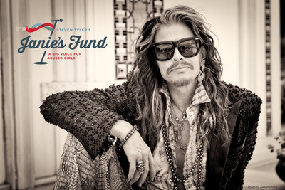 Musician Steven Tyler announced today the launch of his new signature philanthropic initiative to help girls who have been abused and neglected: Janie's Fund.