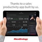 30% increase in sales rep average deal size. (PRNewsFoto/MicroStrategy)