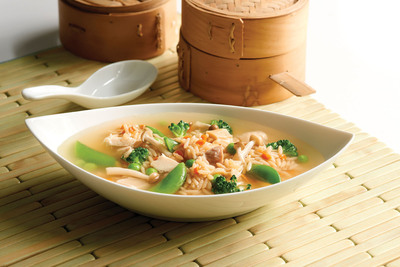 Asian Chicken & Rice Soup made with Minute® Ready to Serve Fried Rice Mix