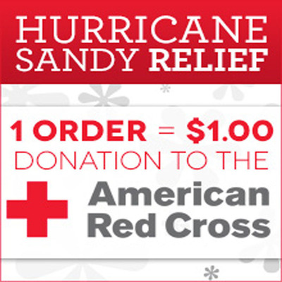 From You Flowers Donates Proceeds of Sales to Red Cross for Hurricane Sandy Relief.  (PRNewsFoto/FromYouFlowers.com)