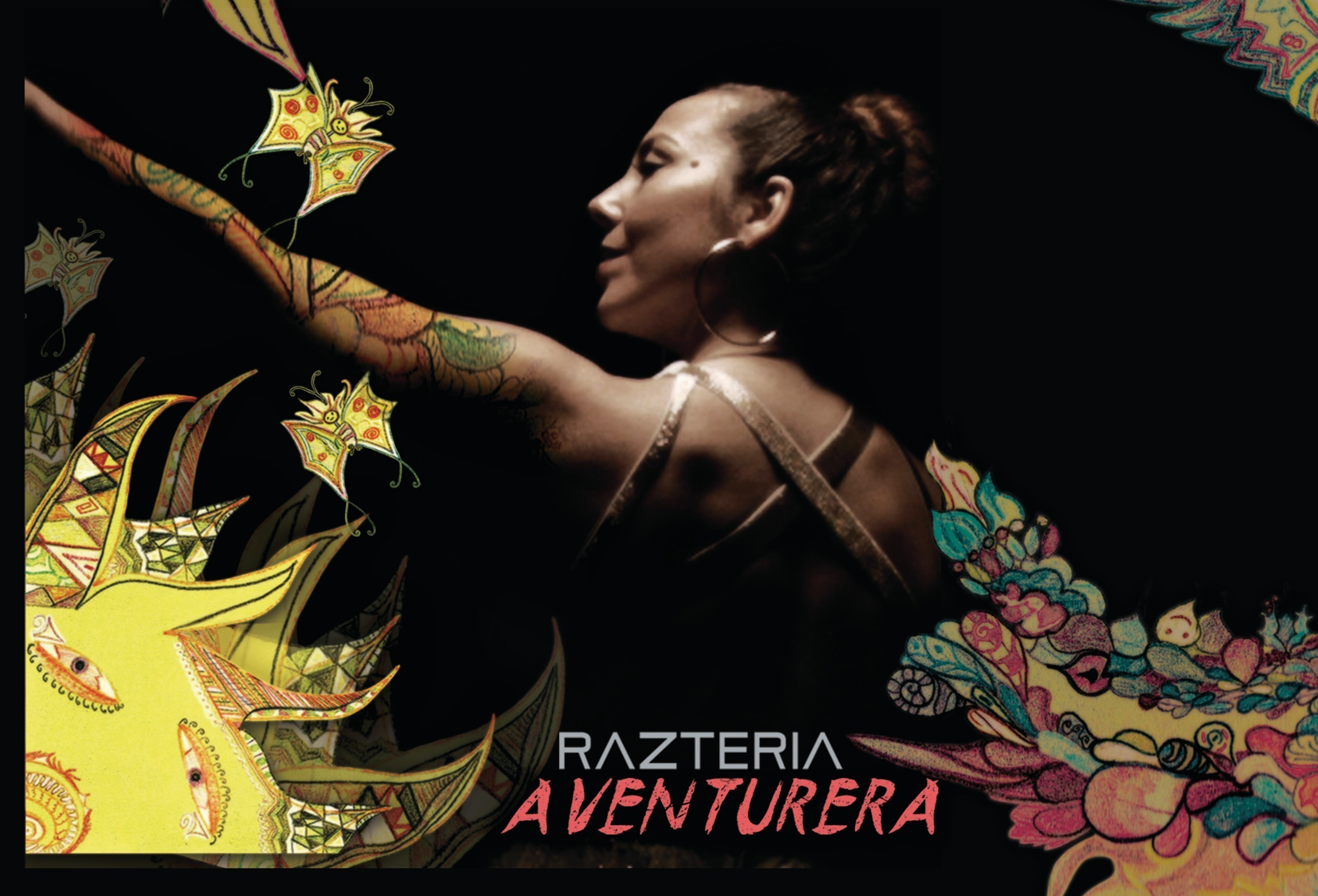 Bay Area Based Latin-Rock-Reggae Artist Razteria to Release Two Singles and Videos Ahead of the March 18th, 2016 Worldwide Release of her 5th Album, 'Aventurera'