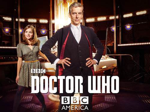 Picture shows: Clara (Jenna Coleman) and The Doctor (Peter Capaldi) (PRNewsFoto/BBC AMERICA) (PRNewsFoto/BBC AMERICA)