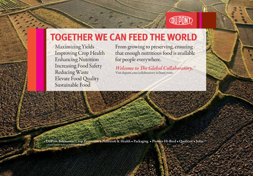 DuPont CEO Calls for Science, Collaboration to Address Food Security at World Food Prize