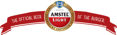 Amstel Light is The Official Beer of the Burger(TM).  (PRNewsFoto/HEINEKEN USA Inc.)