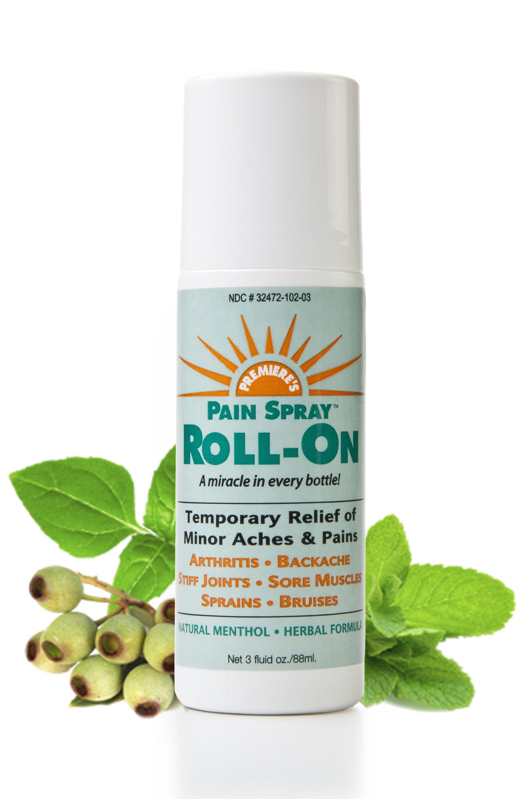 Pain Spray Roll-On