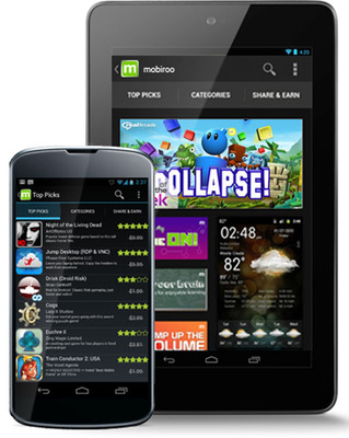 Mobiroo Introduces First Apps On-Demand Service for Android. Hundreds of Top Paid Apps and Games, One Unlimited Downloads. One All You Can App Membership.  (PRNewsFoto/Mobiroo)