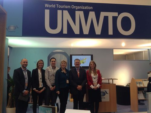 Jon Howell, Regional Sales Manager- Europe and Africa, Routes;Johanna Devine, Special Field Projects, Silk ...