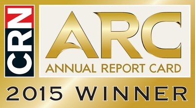 Ruckus Wireless, a 2015 CRN ARC (Annual Report Card) Winner, SMB Networking Hardware - 3rd year in a row