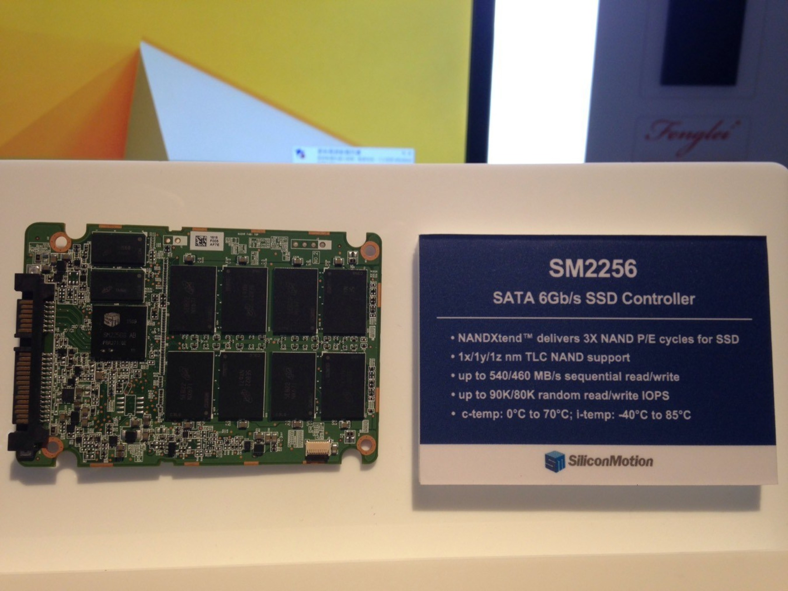 SM2256 supports Micron's new 16nm TLC NAND, enabling high performance and cost-optimized TLC SSDs