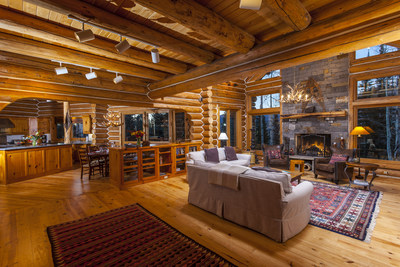 A lodge-style resort home in Telluride's ski area, being offered in a novel purchase arrangement by Lifestyle Asset Group, LLC.