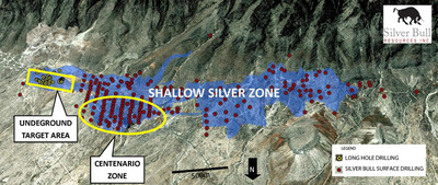 Silver Bull Intersects 106.35 Meters Of 37g/t Silver And 16 Meters Of 10.34% Zinc At The Sierra Mojada Project, Coahuila, Mexico