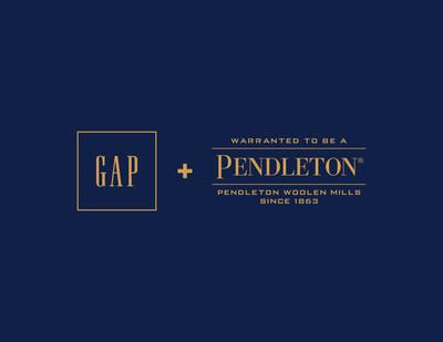 Gap x Pendleton logo