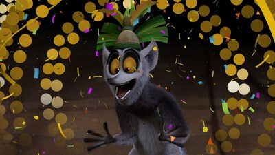 King Julien, Star of the Latest Netflix Original Series for Kids, Hosts Dance Party & New Year's Eve Countdown On Netflix for families