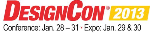 DesignCon 2013:  January 28 - 31.  (PRNewsFoto/UBM Electronics)