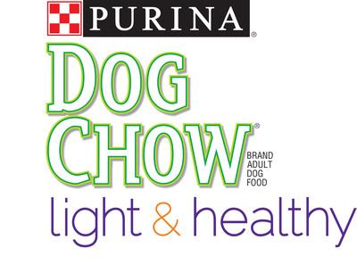 Purina(r) Dog Chow(r) Light & Healthy.  (PRNewsFoto/Purina Dog Chow)
