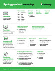 GoDaddy Spring Product Roadmap - Highlights of new products & features.