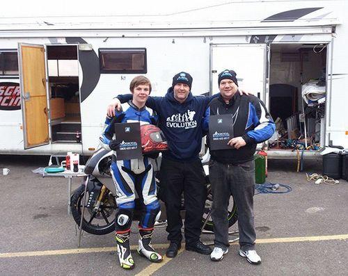 Motorcyclecompensation.com announces double 2013 sponsorship deal (PRNewsFoto/motorcyclecompensation.com)