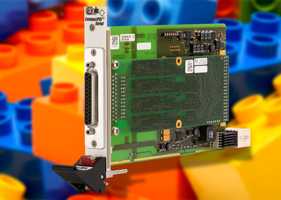 New 3U CompactPCI Serial Carrier Card from MEN Micro Integrates M-Module Functionality. (PRNewsFoto/MEN Micro Inc.) (PRNewsFoto/MEN MICRO INC.)