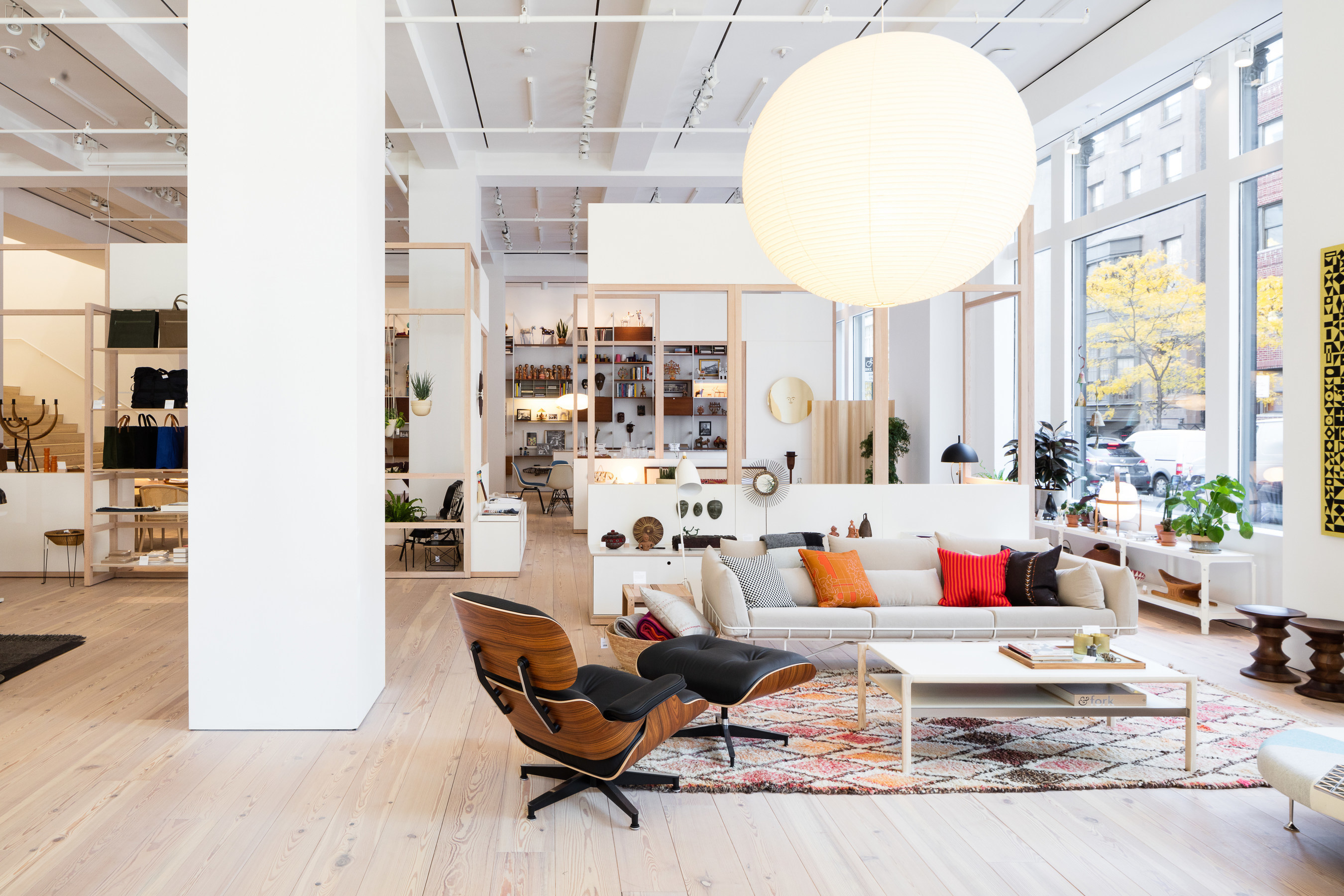 Herman Miller Opens New York City Flagship Store - Photo credit Nicholas Calcott.