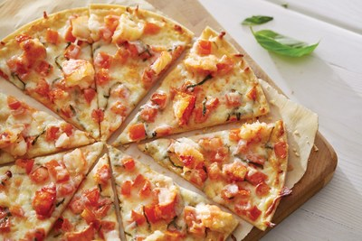 Red Lobster's Lobster Pizza is one of a variety of appetizers and desserts to choose from this Veterans Day.
