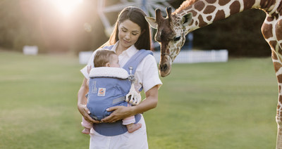 ERGOBABY INTRODUCES SOPHIE LA GIRAFE BABY CARRIERS - The New Ergobaby ADAPT Carrier And The Award-Winning Four Position 360 Carrier Will Both Feature The Iconic Sophie La Girafe Design