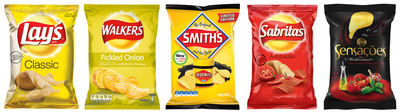 """PepsiCo's """"Banner Sun"""" potato chip portfolio includes brands such as Lay's--the number one global food brand--Walkers, Smith's, Sabritas, and Elma Chips"""