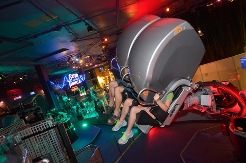 Interactive Math Experience Dives into Fourth Anniversary: Raytheon's Sum of all Thrills(TM) at ...