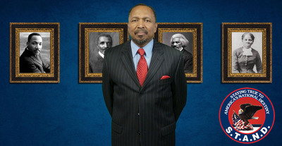 Bishop E.W. Jackson Calls Black Christians to Exodus the Democrat Party! Bishop Jackson's message is spreading throughout the country. Learn more at www.StandAmerica.us.  (PRNewsFoto/STAND)