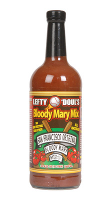 Lefty O'Doul's original Bloody Mary mix is now available outside of San Francisco!  (PRNewsFoto/Lefty O'Doul's)