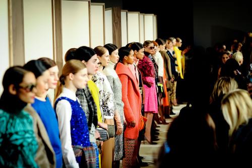 The J.Crew Fall'12 New York Fashion Week Presentation.  (PRNewsFoto/J.Crew)