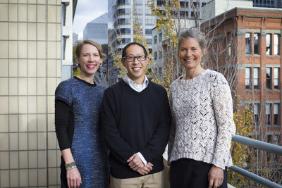 Cascadia Consulting Group second-generation owners: Amity Lumper (Principal), Francis Icasiano (CEO), Ruth Bell (Principal)