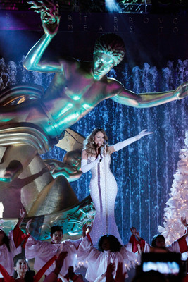 "Global Superstar Mariah Carey Takes Over NBCUniversal to Spread Festive Love and Cheer with ""Mariah Carey's 12 Days of Christmas"". (PRNewsFoto/PMK*BNC) (PRNewsFoto/PMK*BNC)"