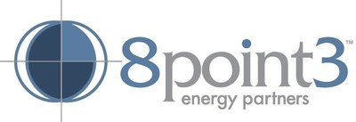 8point3 Energy Partners LP Logo (PRNewsFoto/8point3 Energy Partners LP)