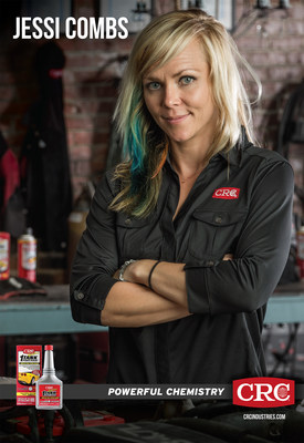 Racing personality and crc ambassador jessi combs to for Jessi combs tattoos